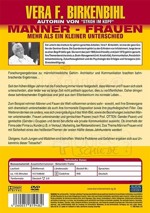 Vera F. Birkenbihl - Männer/Frauen - Mehr als der kleine Unterschied ...