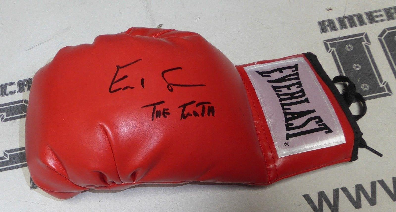 Errol Spence Jr Signed Left Everlast Boxing Glove COA Autograph Champion PSA/DNA Certified Autographed Boxing Gloves