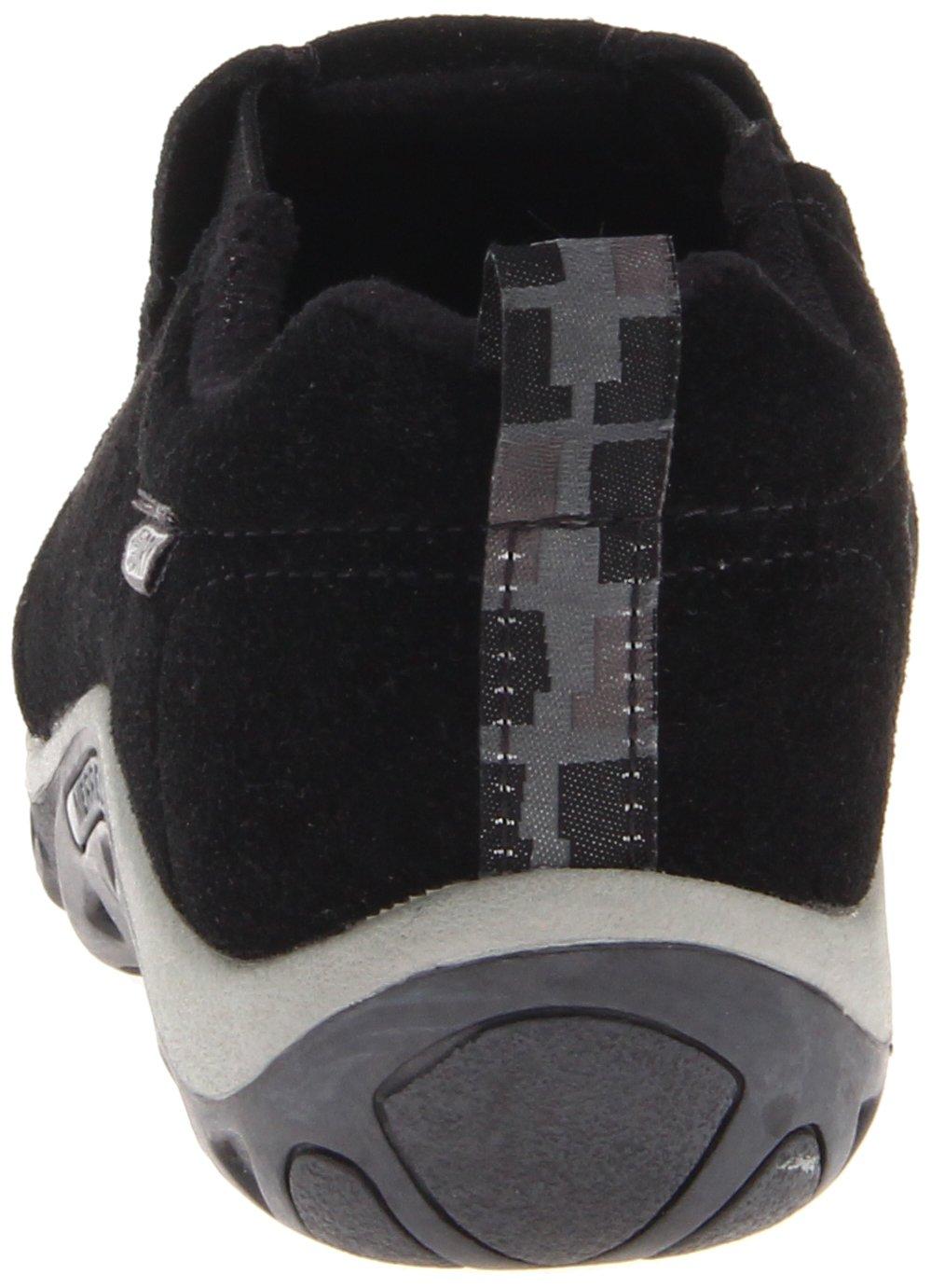 Merrell Jungle Moc Frosty Waterproof Slip-On Shoe (Toddler/Little Kid/Big Kid),Black,7 M US Big Kid by Merrell (Image #2)
