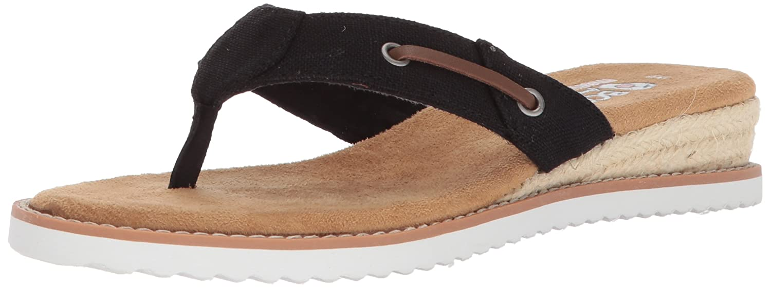 9f2b04b4d279 Skechers Women s Desert Kiss-Off Grid Flip-Flop  Amazon.co.uk  Shoes ...