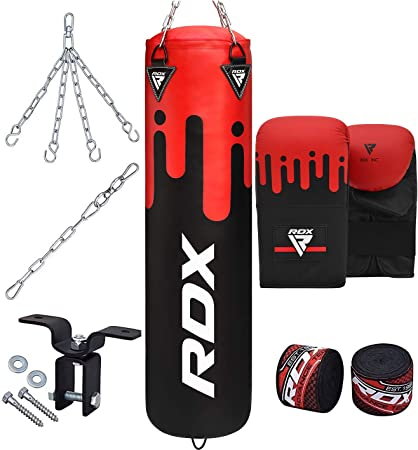 Rdx bag boxing punch bag gloves punching mma fight arena is hook