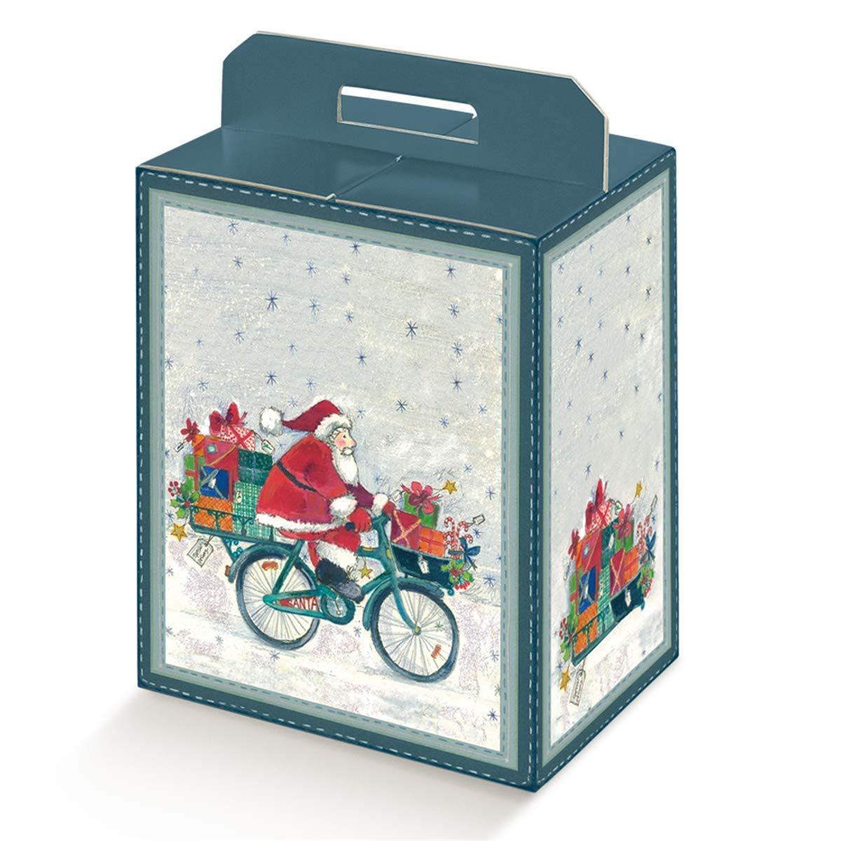Pou 804.40 Santa'S On Bike Aufbewahrungsboxen für Trinkflaschen, 28 x 20 x 35 cm
