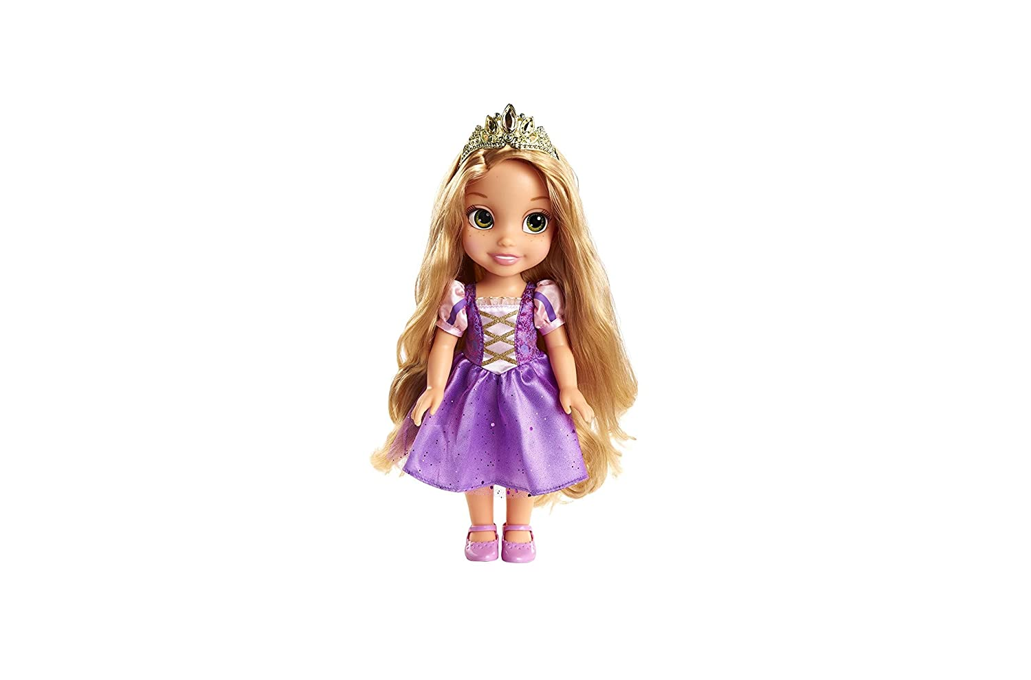 Keys to the Kingdom Rapunzel Toddler Doll with Royal Reflection Eyes that Shine and Shimmer by Jakks Pacific