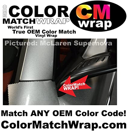 Color Match Wrap, OEM Paint Code Color Matching Vinyl Wrap