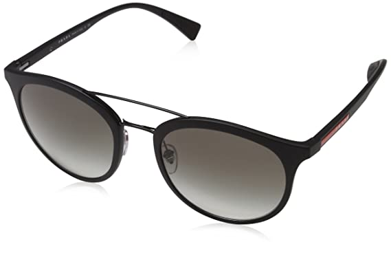 a84ac52085a8 Amazon.com  Prada Linea Rossa Men s PS 04RS Sunglasses 54mm  Clothing