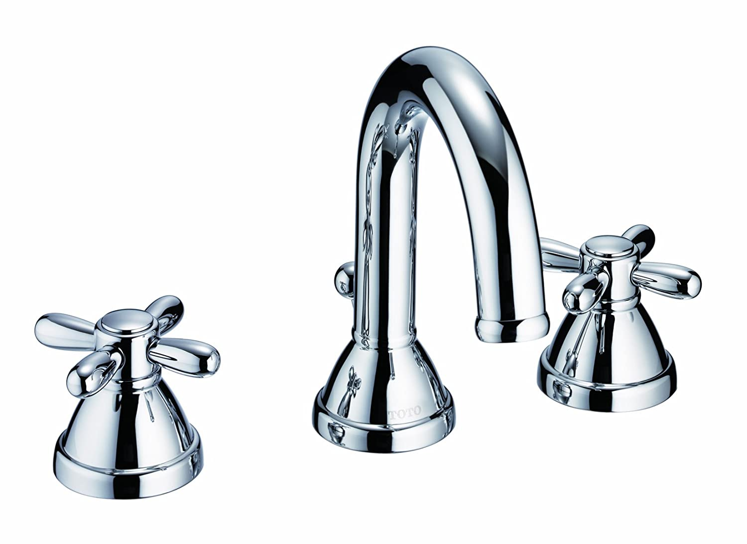 TOTO TL756DD-CP Mercer Widespread Lavatory Faucet, Chrome - Touch On ...