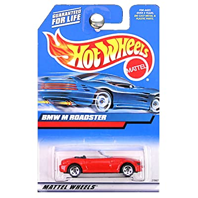 Hot Wheels 2000 BMW M Roadster Red Convertible: Toys & Games