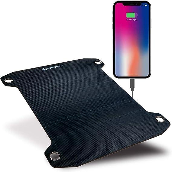 Amazon.com: SUNNYBAG Leaf+ cargador solar impermeable para ...