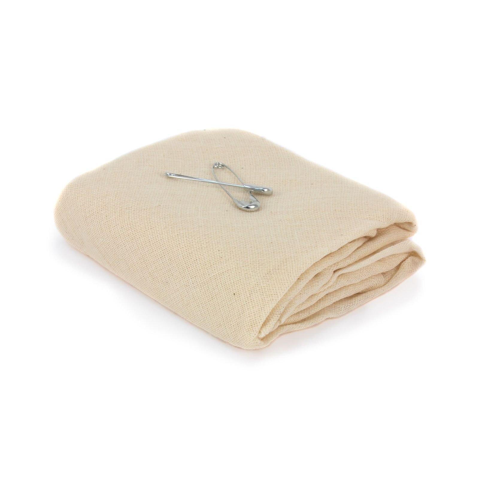 Triangular Bandage, Carejoy 10Pcs First Aid Wrap Bandage Medical Dressing Gauze Triangular Non-Woven Bandages for Knee and Elbow