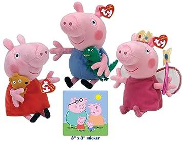 0fb17a5f3d3 Ty Beanie Babies Peppa Pig
