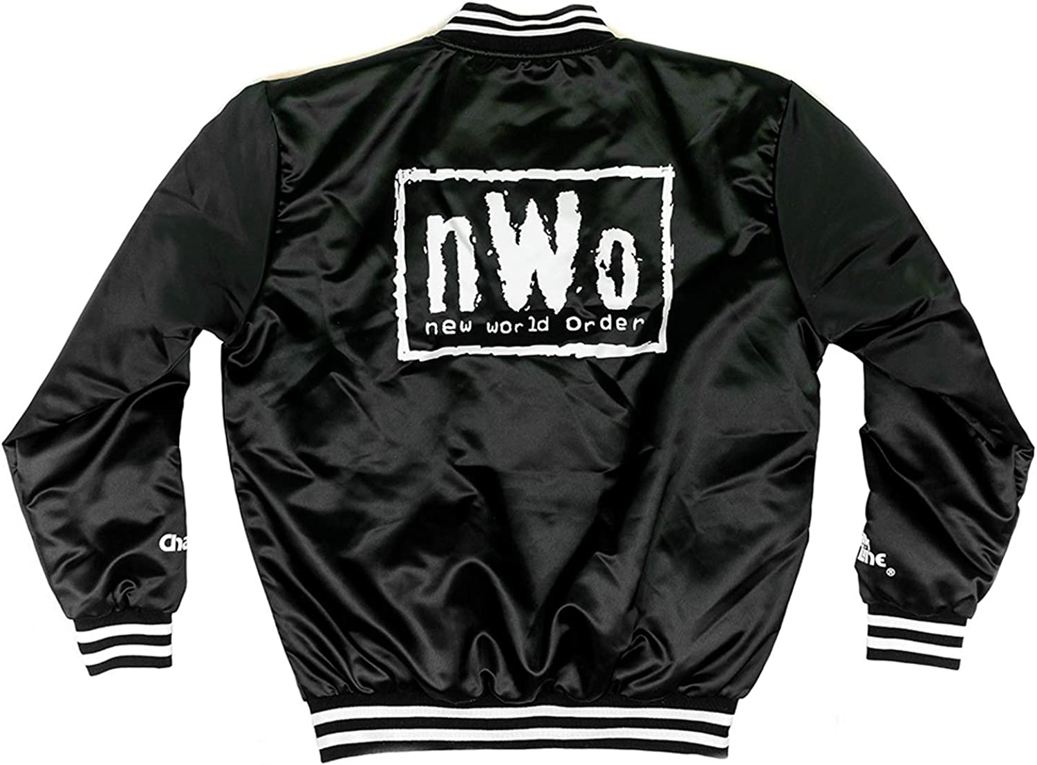 Official WWE Authentic WrestleMania 1 Retro Fanimation Chalk Line Jacket Multi