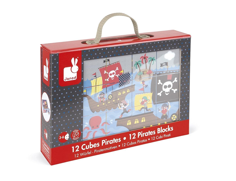 Kubkid 12 Cubi J02983 Racconti di Fate Janod