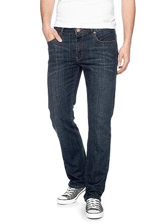 5f2dd4dbf8e764 H.I.S. Herren Jeans Stanton 102-10-1004 Regular Fit blue stretch ...