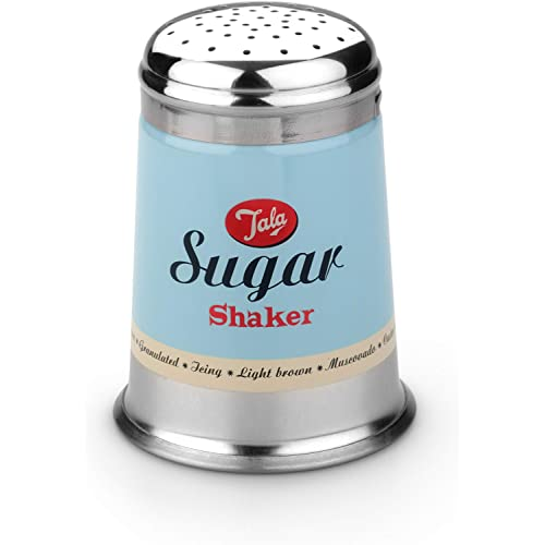 Tala 1960 Sugar Shaker Duck Egg Blue & Cream