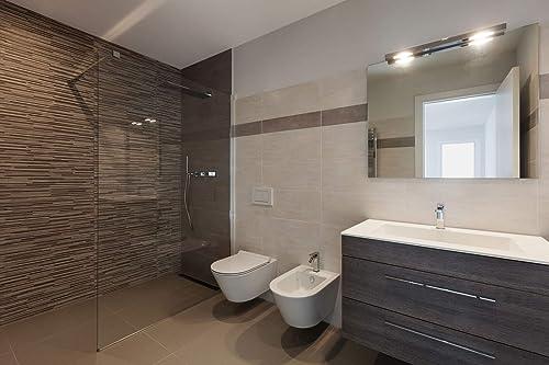Infrarot Spiegelheizung im Badezimmer