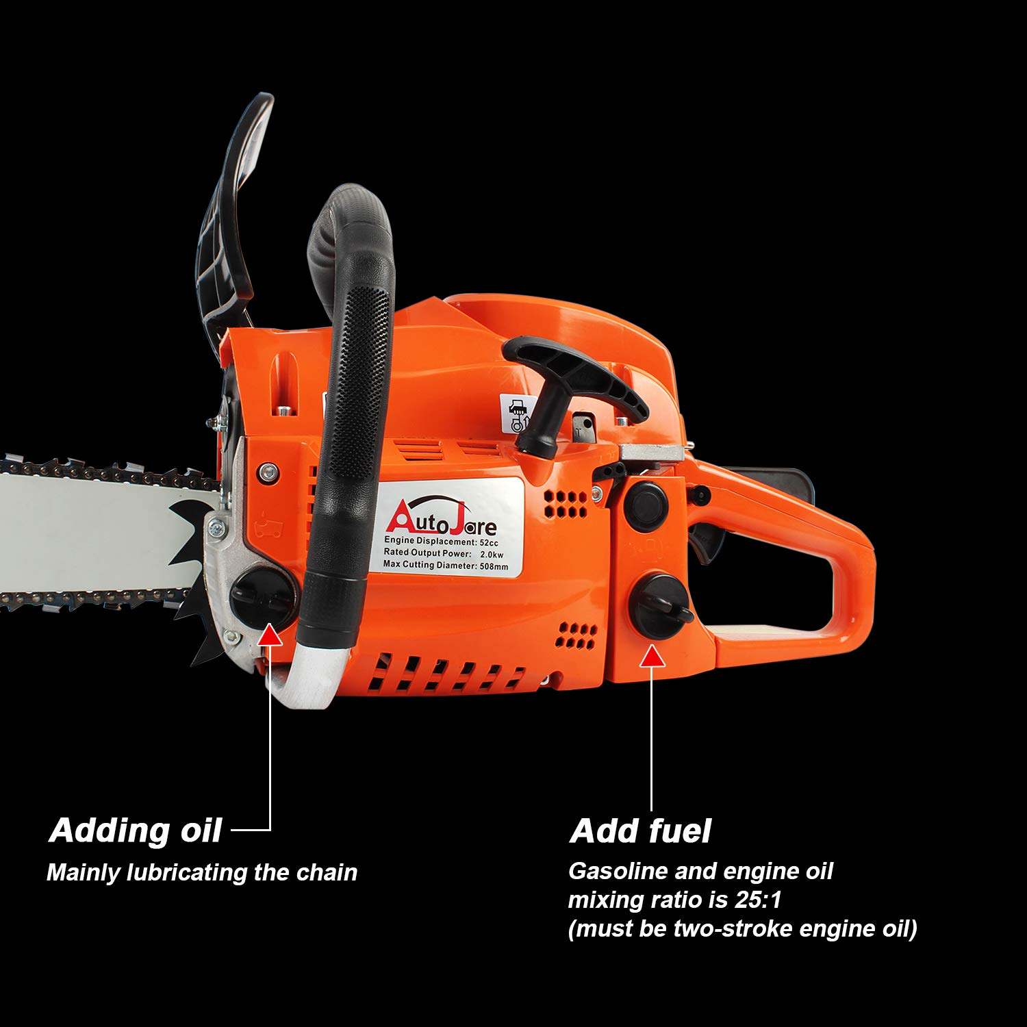 AUTOJARE YJ5202 Chainsaws product image 5
