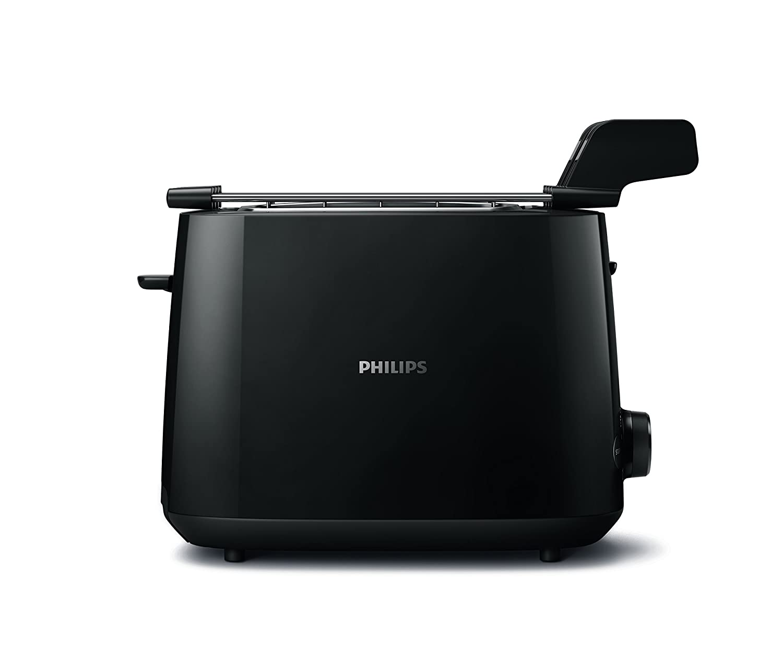 Philips Daily Collection HD2583/00 - Tostador (8 rebanada(s), Blanco, De plástico, Botones, Giratorio, China, 600 W): Amazon.es: Hogar