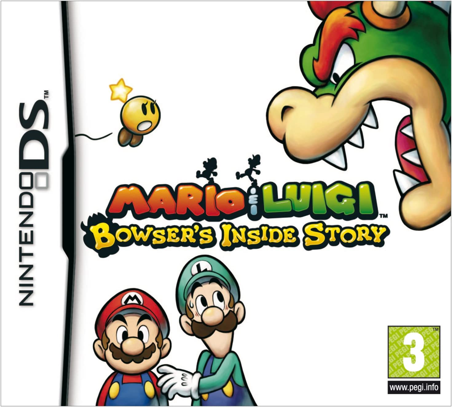 mario and luigi bowsers inside story ds