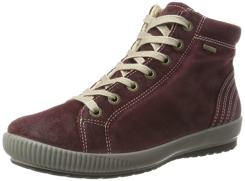 Legero Tanaro - Zapatillas Altas Mujer 44.5 EU Rojo (Rubin)