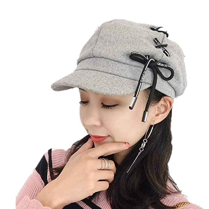 20f7e32b5c88a Women Men Newsboy Cap Beret Female Male Flat Cap Autumn Winter Hats  Octagonal Hat Vintage England