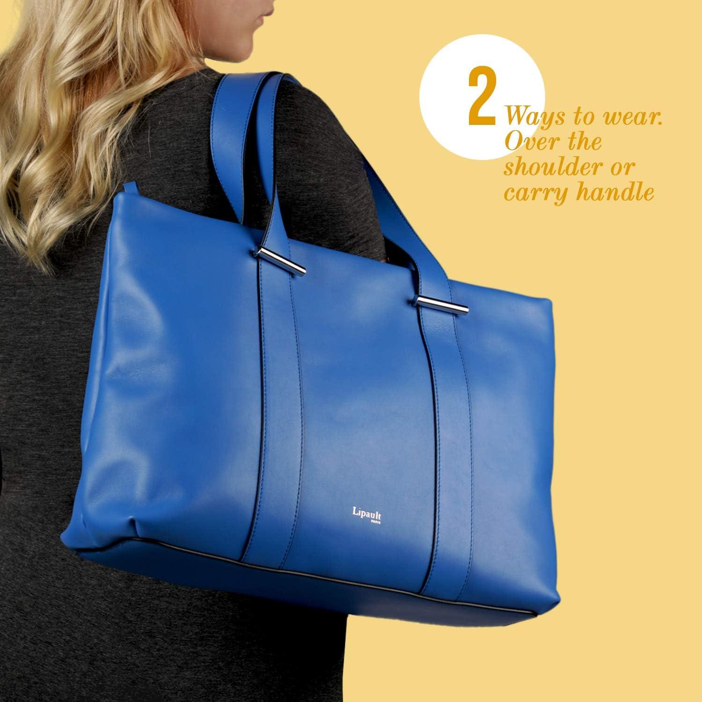 Lipault Large Top Handle Shoulder Handbag for Women By The Seine Tote Bag
