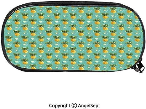 1184D - Estuche con estampado de rayas maya étnico para niños y adolescentes, color fucsia índigo: Amazon.es: Juguetes y juegos
