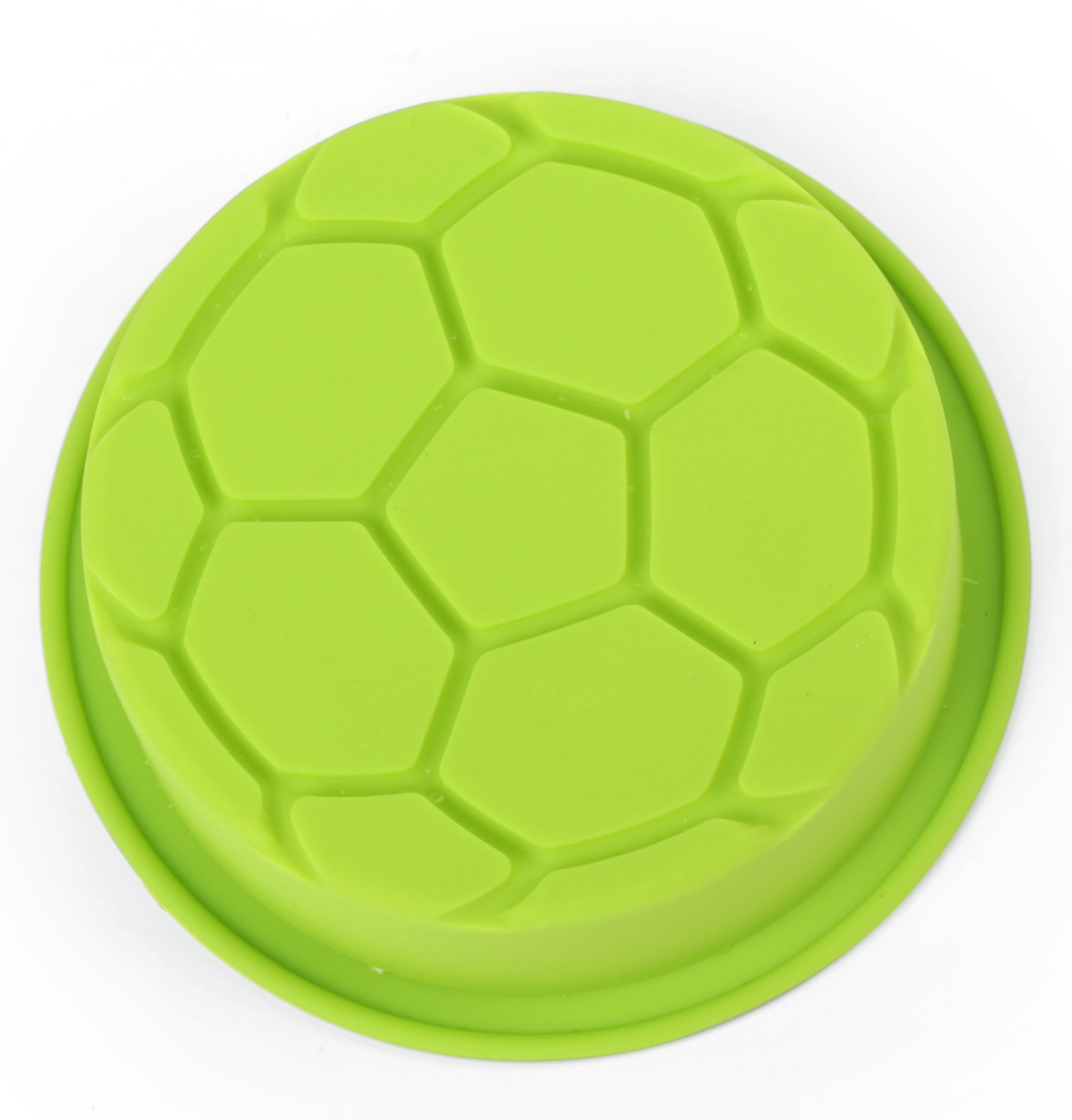 Home Value Colorful Silicone Sports Ball Set'' Soccer, Tennis, Baseball, Basketball '' Cake Mold, Assorted Colors (HVCOOKIECUTSC09) by Value Home (Image #4)