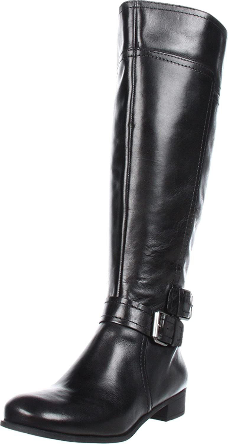 cb5f9fbd6c7 Nine West Women s Shiza Wide Calf Knee-High Boot