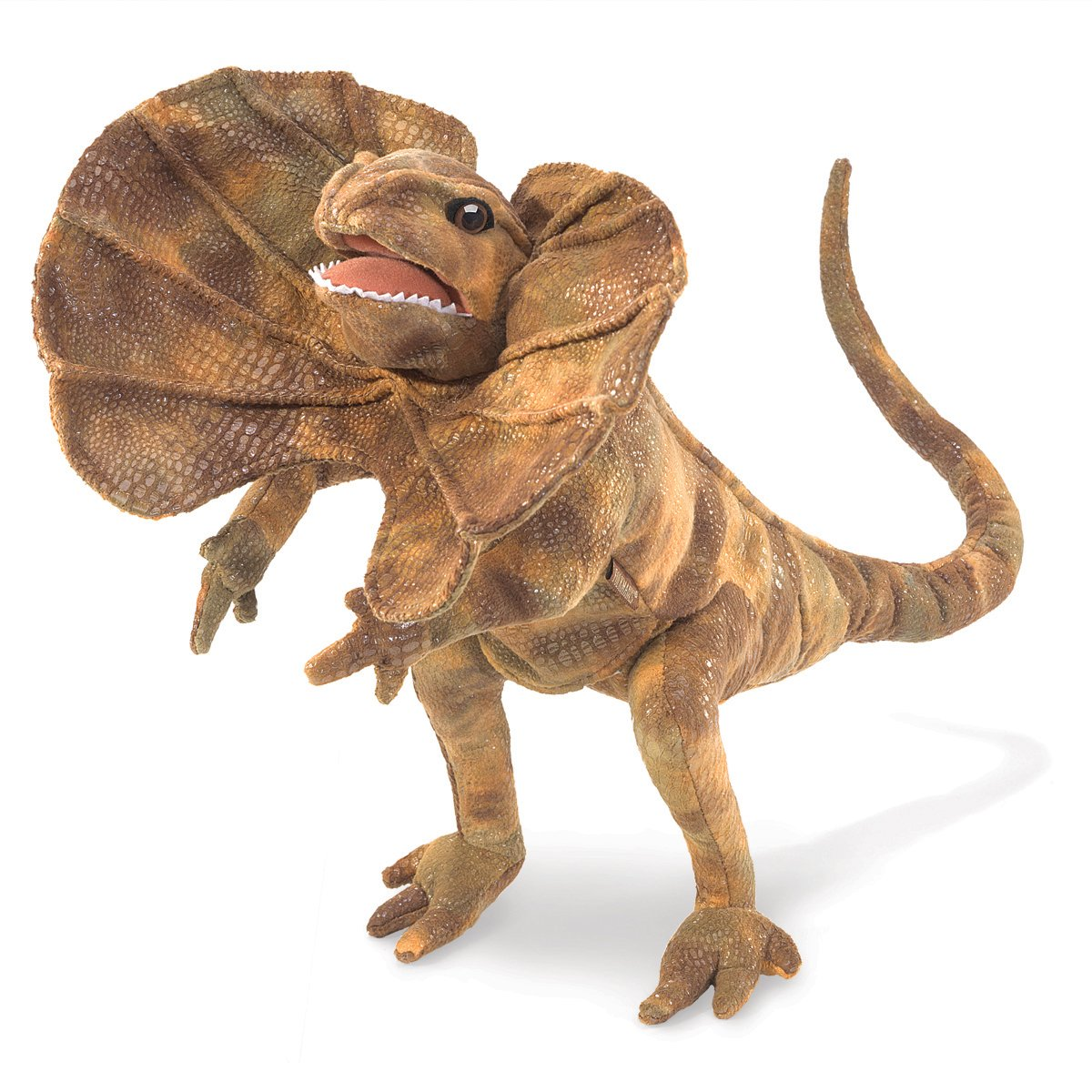 Folkmanis Frilled Lizard Hand Puppet Folkmanis Puppets 3046