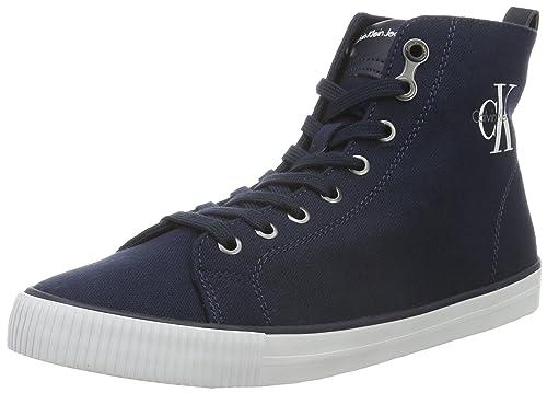 27338063dc Calvin Klein Women s Dolores Canvas Low-Top Sneakers  Amazon.co.uk ...