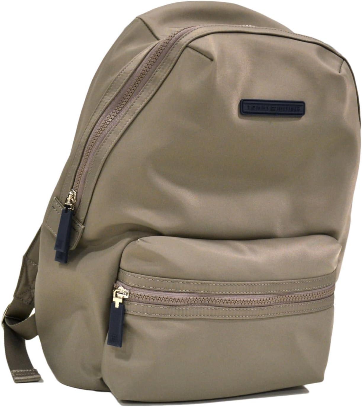 Tommy Hilfiger Laptop Nylon Backpack (Beige)