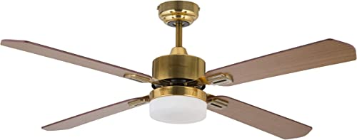 Amazon Brand Rivet Remote-Controlled Ceiling Fan