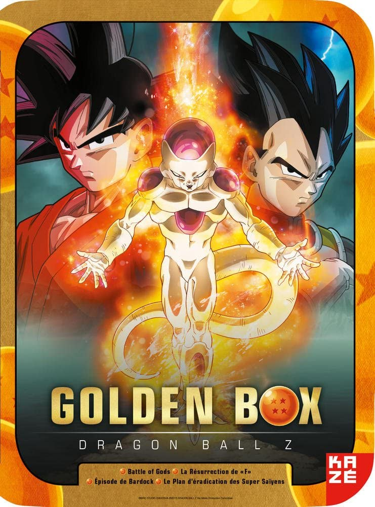 Dragon Ball Z Golden Box Steelbox Collector Dvd Amazon Co