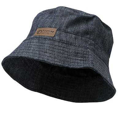 b7234d5d4b924 Firetrap Mens Bucket Hat Casual Summer Denim  Amazon.co.uk  Clothing