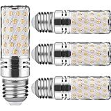Nakital Bombilla E27 Led E27 Blanco Calido Calida 15 W 6000K 1500Lm LED Candelabros Equivalente Incandescente 120W vela Bombillas No regulables(4 Packs) (E27 Led Calida Calido)