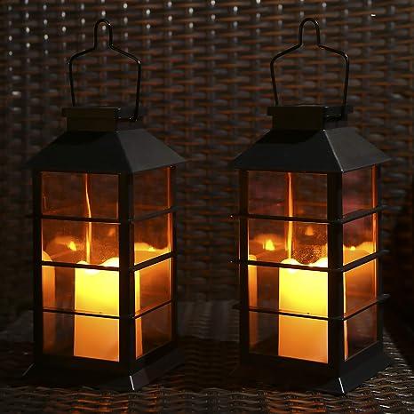 Solar Powered LED Lantern Table Light With USB Handmade Eco Friendly Waterproof
