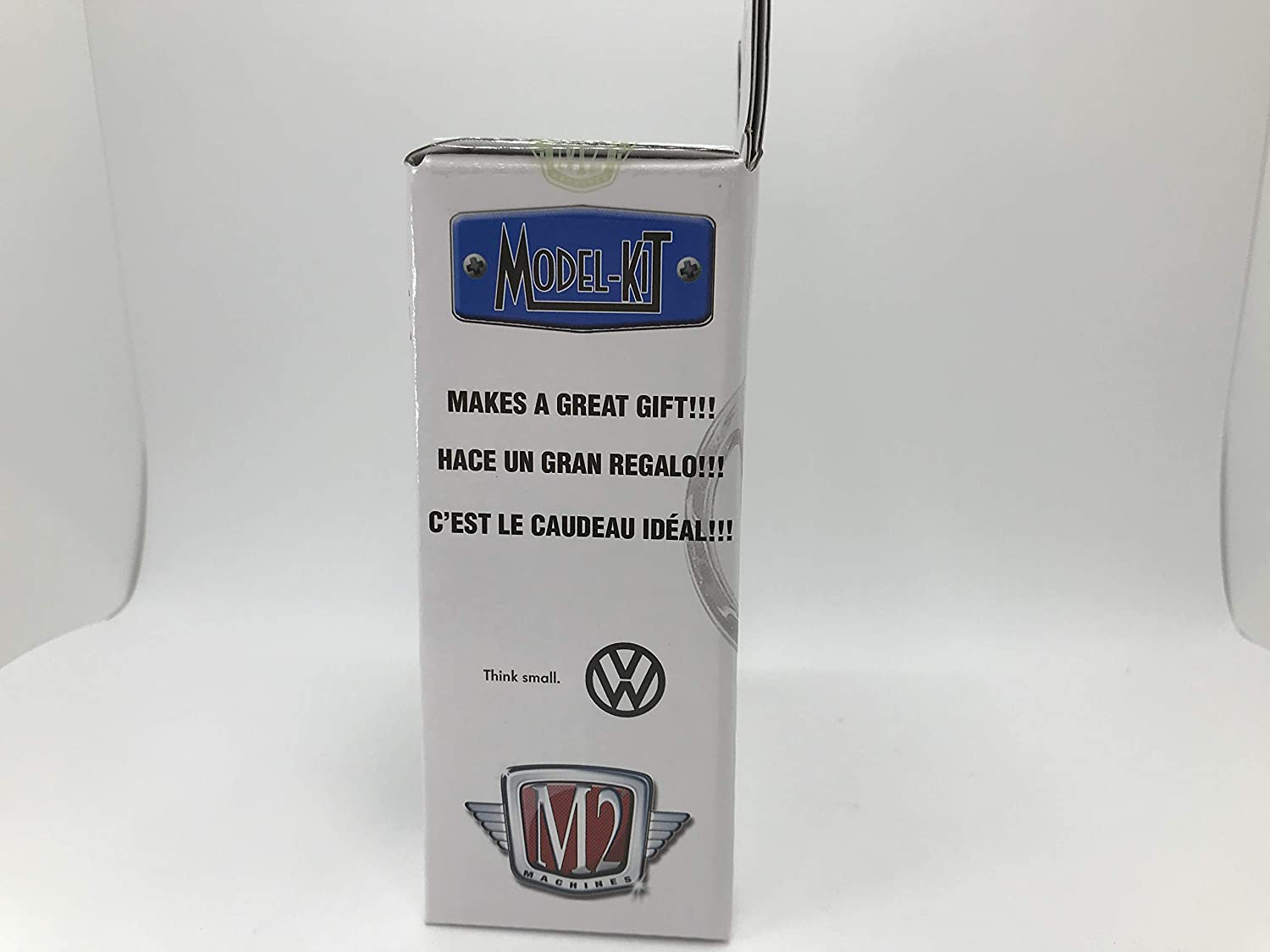 1 of 7480 M2 Machines by M2 Collectible Model-Kit 1956 VW Beetle Deluxe USA Model 1:64 Scale R18 18-05 Blue Details Like NO Other