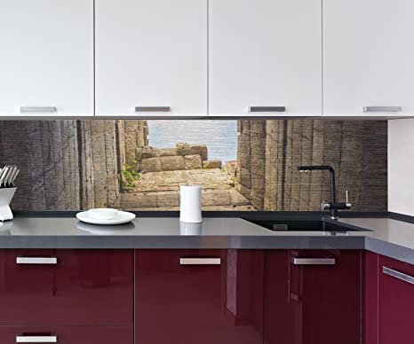 retrocucina muro Rovine con vista sul cielo Design M0797 260 x 60 (L ...