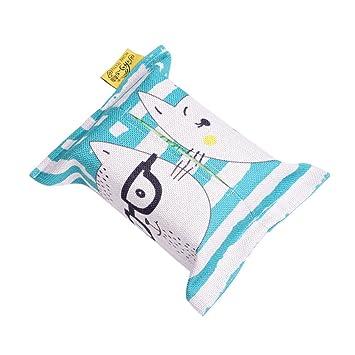 YF Creative - Juego de Toallas de Papel de algodón para Coche, casa o casa: Amazon.es: Hogar