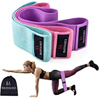 Sotosh Resistance Bands Exercise Bands Hip Booty Bands Workout Bands-Cotton Loop Resistance Band for Exercise Legs & Butt Body Stretching, Yoga, Pilates, Muscle Training