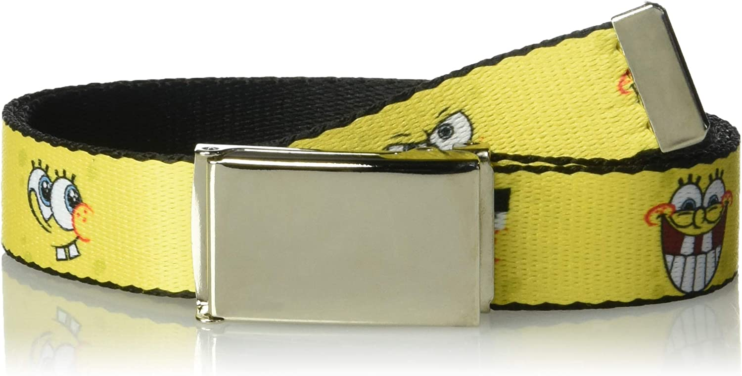 GUMBALL School Bus Darwin//Gumball//Mis Simian//Tina//Pincipal Brown 1.0 Wide Buckle-Down Seatbelt Belt 20-36 Inches in Length