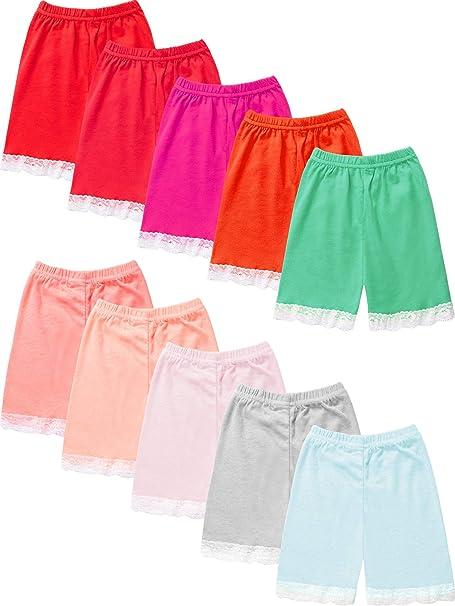 Geyoga Pantalones Cortos de Seguridad para niñas con Falda para ...