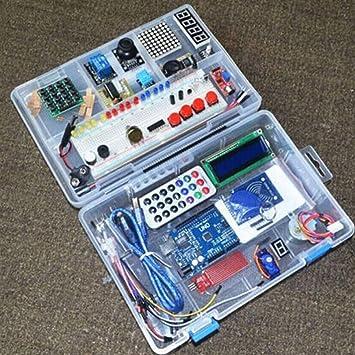 Delicacydex Kit de Inicio de Aprendizaje RFID para Arduino R3 Versión Mejorada Trajes de Aprendizaje con