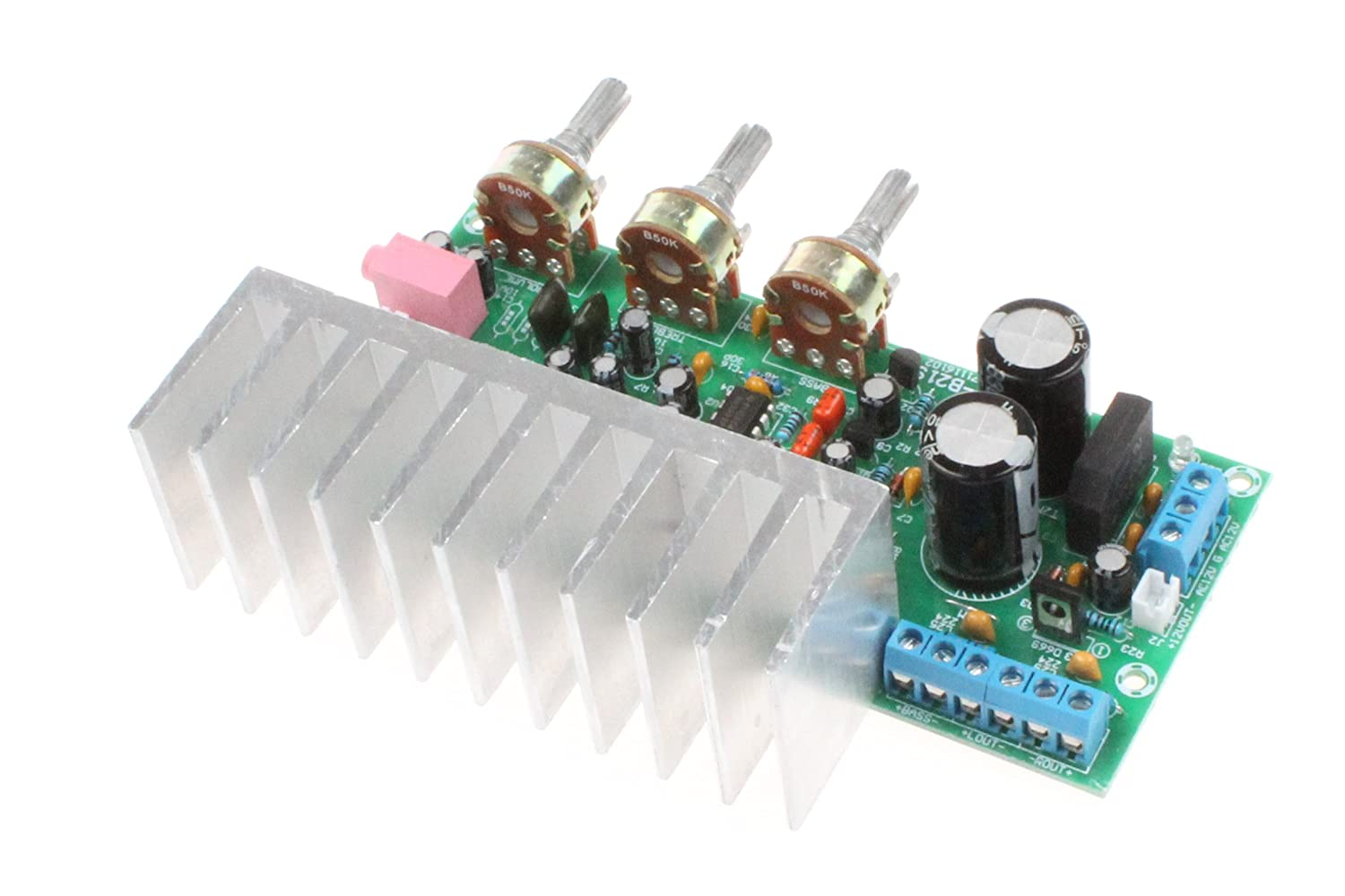 Noyito Tda2050 Tda2030 Ne5532 21 3 Channel Hi Fi Amplifier 32w Hifi Circuit Schematic Electronics Subwoofer Board 18w Compatible With Lm1875 Musical Instruments