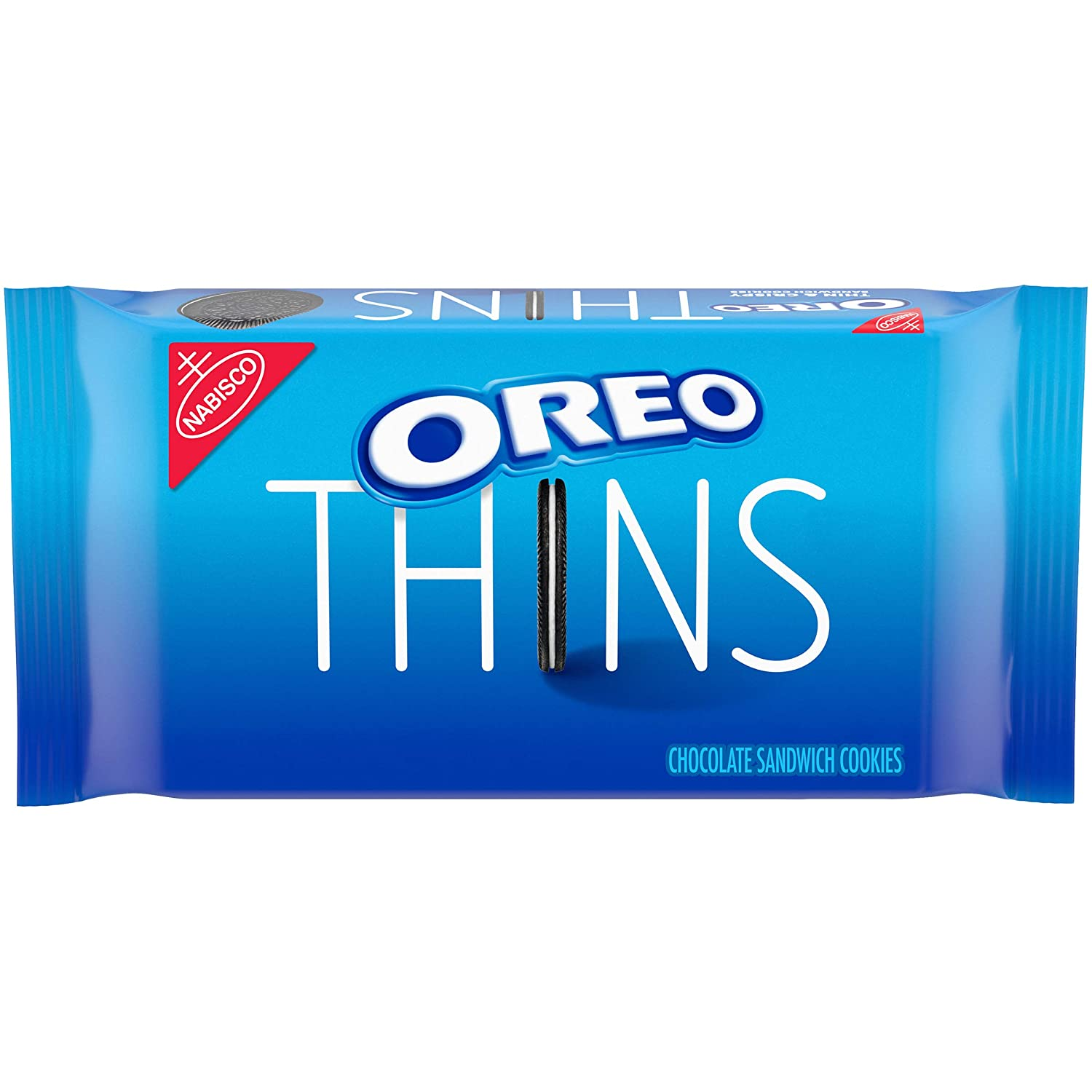 OREO Thins Chocolate Sandwich Cookies, 10.1 oz