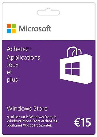 Tarjeta regalo Windows Store 25 euros: Amazon.es: Videojuegos