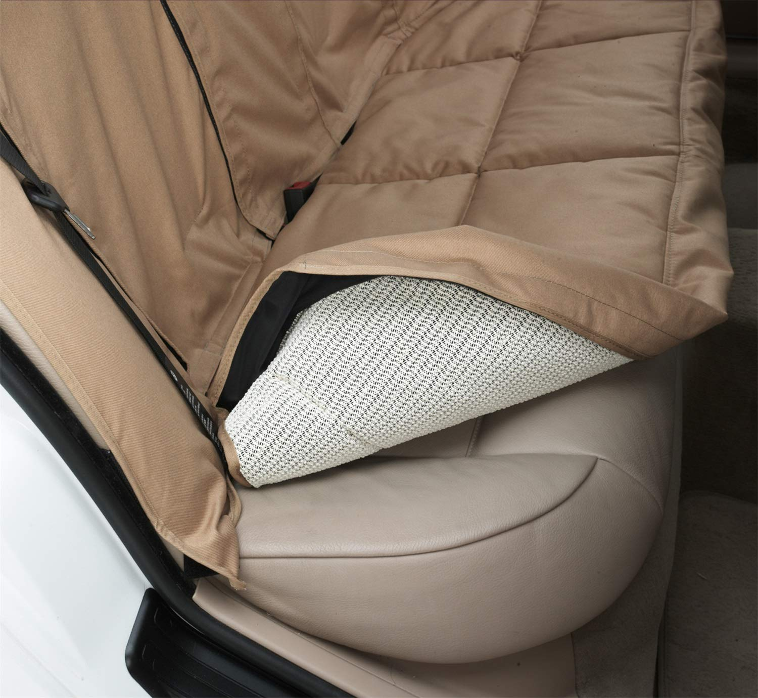 Canine Covers CoverAll 2nd Row Custom Fit Seat Protector for Select Land Rover Range Rover Sport Models - Polycotton (Tan) DCC4329TN