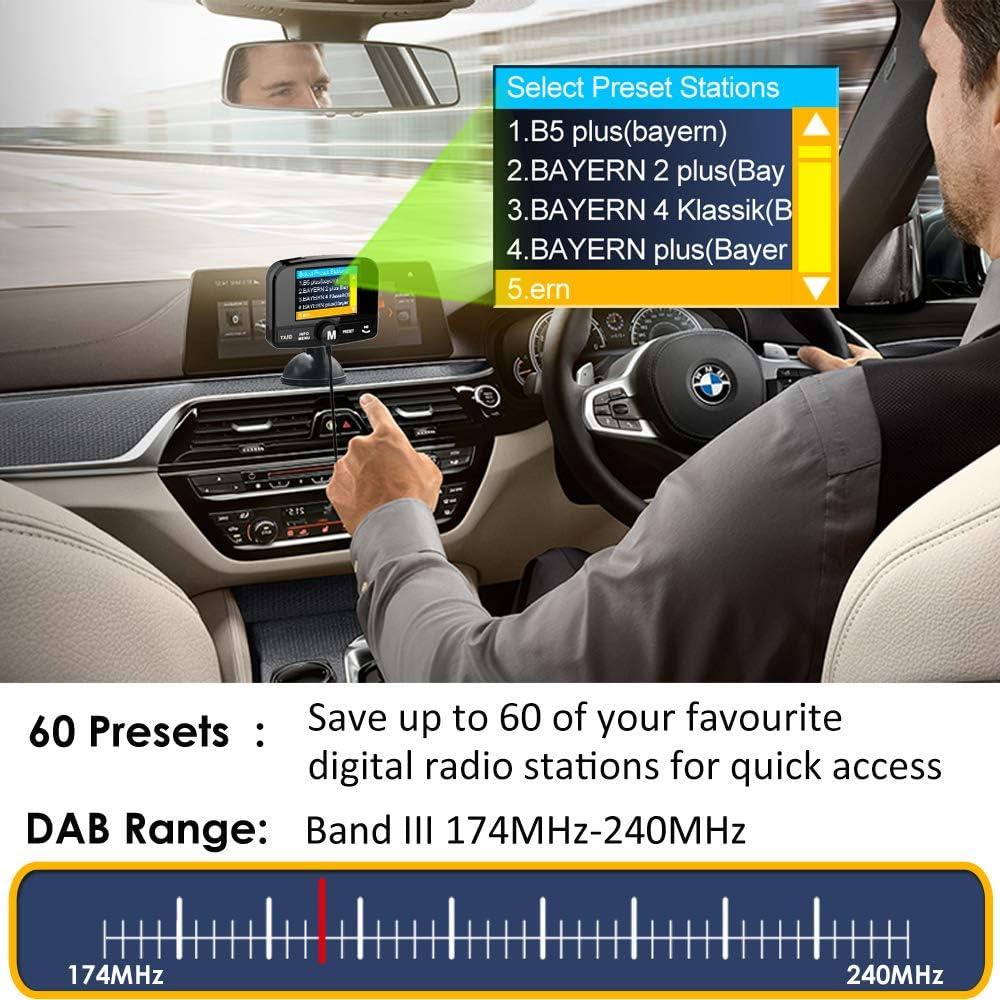 Firste Dab Dab Autoradio Adapter 2 4 Farb Autoradio Elektronik