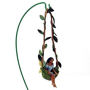 Woodland Knoll Mg214 Swingtime Ebony Fairy Girl