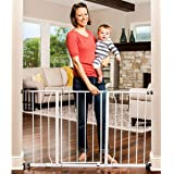 Amazon Com Regalo Easy Step Walk Thru Gate White Fits